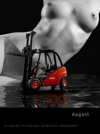 Gabelstapler Kalender 2008