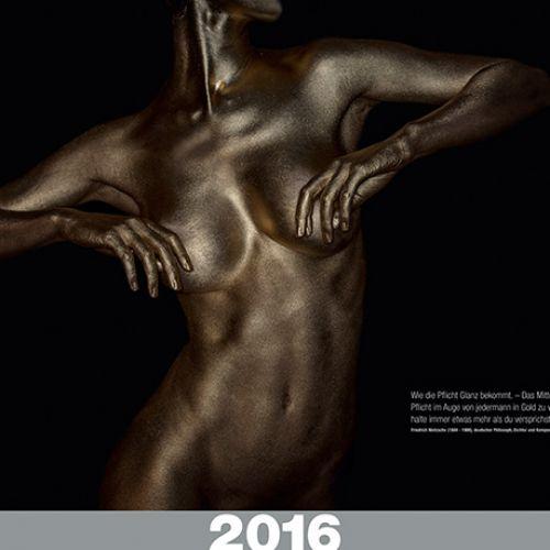 Gold Kalender 2016